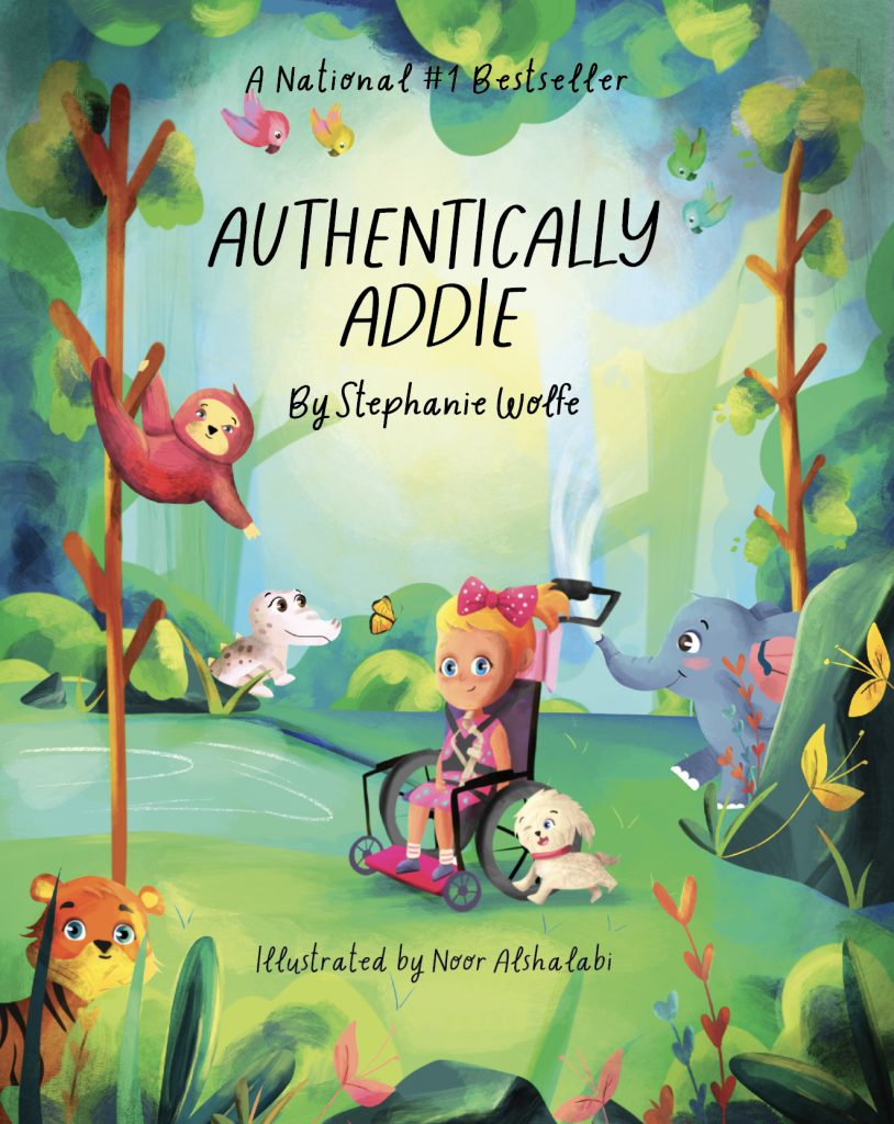 Authentically Addie by Stephanie Wolfe book cover