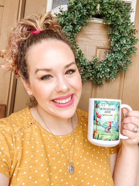 authentically addie mug front
