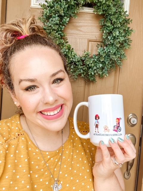 authentically addie mug back