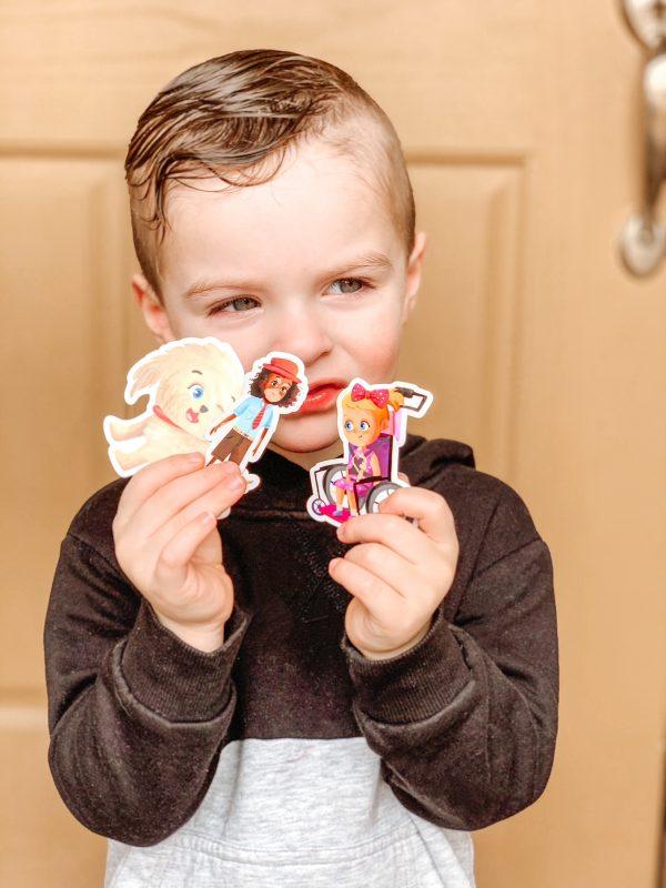 Authentically Addie Sticker Set